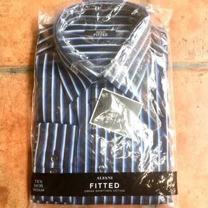 Brand New With Tags Men's Alfani Button-Down Shirt